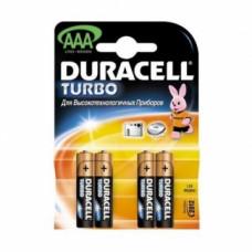 """Батарейки """"Duracell"""" AAA уп. 4 шт"""