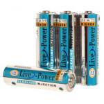 Батарейки Live-Power ALKALINE AA 4pcsshrink