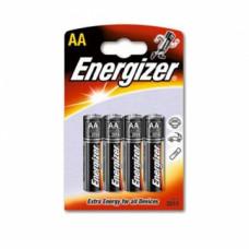 Батарейки Energizer AA уп. 4 шт.