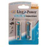 Батарейки Live-Power ALKALINE AAA 2pcscard