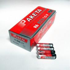 """Батарейки """"Ракета"""" АА уп. 60 шт."""