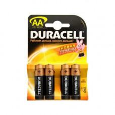 """Батарейки """"Duracell"""" AA уп. 4 шт"""