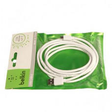 Кабель USB Belkin в Пакетике Micro USB 2m черн/бел