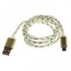 Кабель USB Светящий Micro USB 1000mm