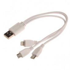 Кабель USB 3v1 дешевый