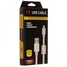 Кабель USB с Фильтром K-105 i6 Apple 1500mm (хороший в упаковке)