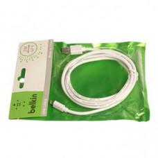 Кабель USB Belkin в Пакетике i6 2m чер/бел