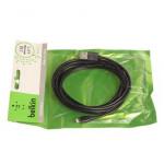 Кабель USB Belkin в Пакетике i6 3m чер/бел