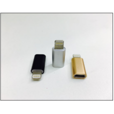 Переходник Micro USB to i6 (Micro to iPhone) METAL