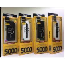 Доп АКБ Remax E5000 (5000mAh=3600mAh)