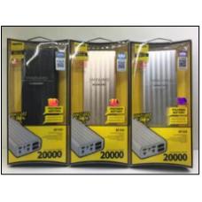 Доп АКБ Remax RP-V20 (20000mAh=16000mAh)