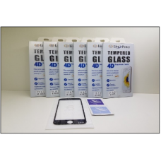 Стекло 4D iPhone ip7 в Упаковке GOLD