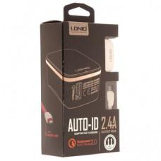 СЗУ LDNIO A1204Q 1USB+кабель на Micro USB 2,4A