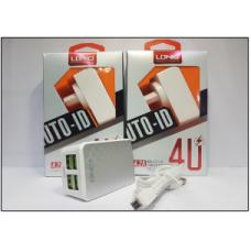СЗУ LDNIO DL-AC62 2USB+кабель на Micro USB 4.2A
