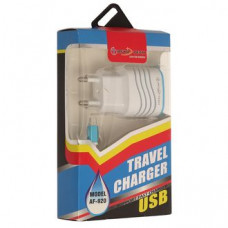 СЗУ Afka-Tech AF-921 Micro USB 2,1A=1A 2USB (AF-920)