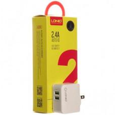 СЗУ LDNIO A2203 2USB+кабель на i6 iPhone 2,4A