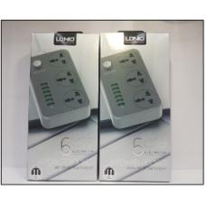 Сетевой фильтр SC3604 2m+6 USB port 3,4A