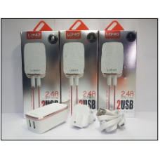 СЗУ LDNIO A2204 2USB+кабель на Micro USB 2,4A