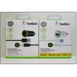 АЗУ Belkin F8J051 10W-I4 1,2m 1USB 2,1A